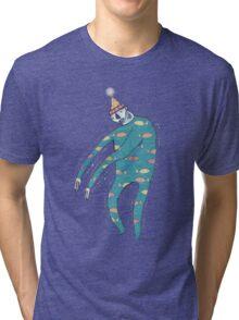 The Shakey Fishman Tri-blend T-Shirt