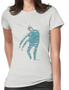 The Shakey Fishman Womens Fitted T-Shirt
