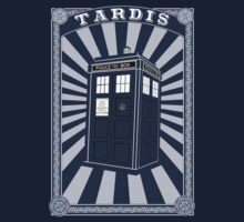 Tardis (Time Machine) Kids Clothes