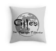 Giles the Teenager Tolerator Throw Pillow