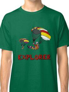 the Real EXPLORER shirt - Dustin's Explorer shirt in Stranger Things Classic T-Shirt