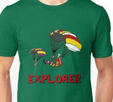 the Real EXPLORER shirt - Dustin's Explorer shirt in Stranger Things Unisex T-Shirt