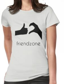 Friend Zone Womens Fitted T-Shirt