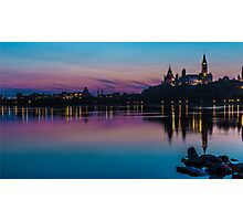 Ottawa Parliament Photographic Print