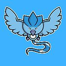 Super Cute Legendary Bird - Team Blue by perdita00