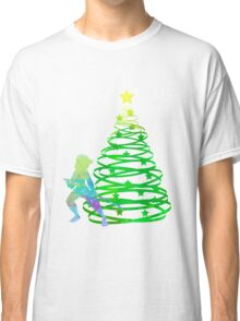 Christmas Princess Inspired Silhouette Classic T-Shirt