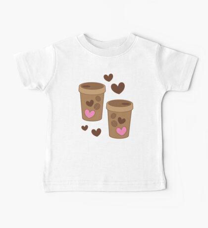coffee cups love Baby Tee