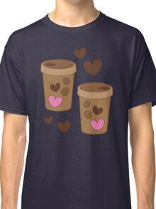 coffee cups love Classic T-Shirt
