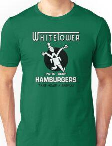 White Tower Character Graphic Unisex T-Shirt