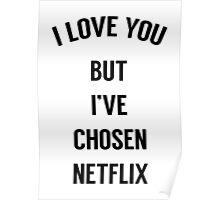 I Love You But I've Chosen Netflix Poster