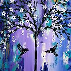 Purple Tree of Life by cathyjacobs