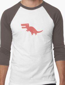 Dinomania - T-Rex Men's Baseball ¾ T-Shirt