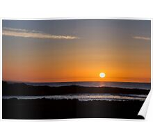 Sunrise over the Ocean Poster