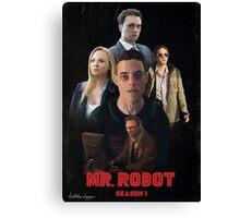 Mr. Robot Season 1  Canvas Print