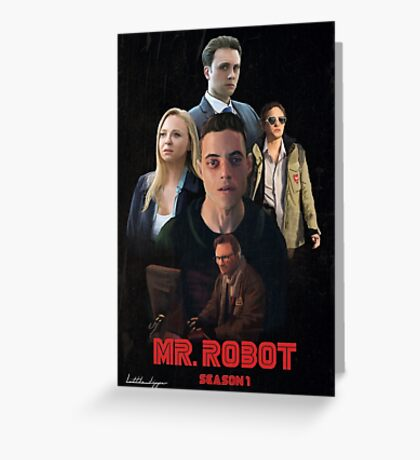 Mr. Robot Season 1  Greeting Card