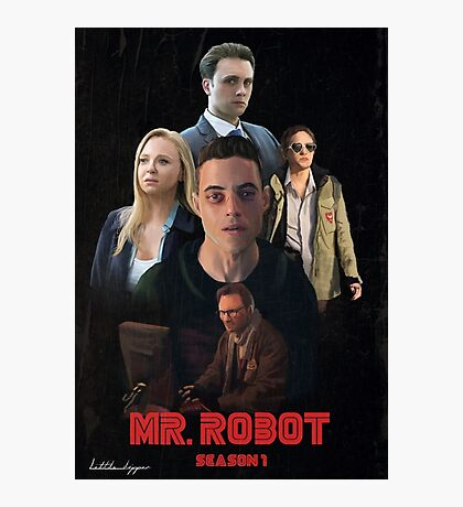 Mr. Robot Season 1  Photographic Print