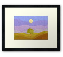 Day Tree Framed Print