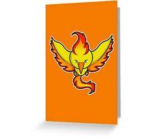 Super Cute Legendary Bird - Team Red Greeting Card