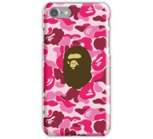 Ape & Camo iPhone Case/Skin