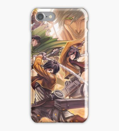 ATTACK!! iPhone Case/Skin