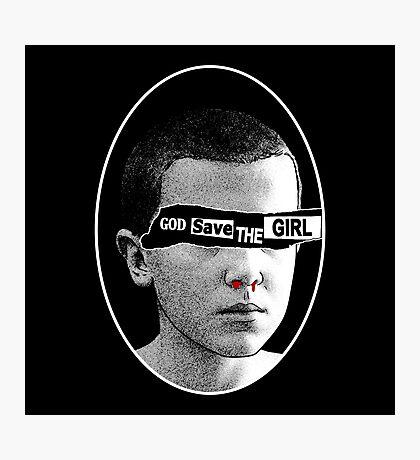 God save the girl Photographic Print