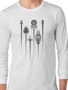 Space Race Long Sleeve T-Shirt