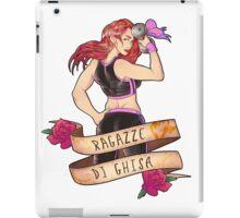 Ragazze di Ghisa girl iPad Case/Skin