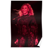 Smiling QUEEN B Poster