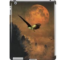 Falcons hunting in the evening iPad Case/Skin