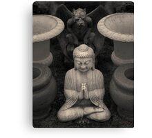 Buddha IV Toned Canvas Print