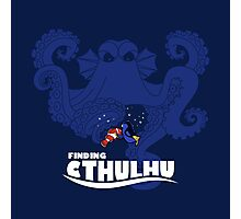 Finding Cthulhu Photographic Print