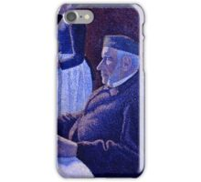 Paul Signac - Breakfast (1886 - 1887)  iPhone Case/Skin