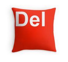 Del Throw Pillow