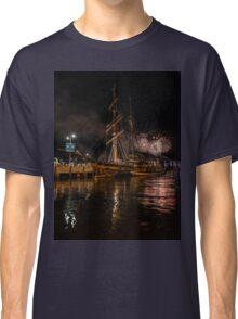 New year eve Fireworks in Hobart Tasmania  Classic T-Shirt