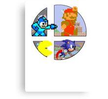 Smash Bros.: Big 4 Canvas Print