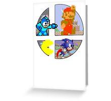 Smash Bros.: Big 4 Greeting Card