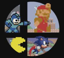 Smash Bros.: Big 4 by JD  Rowe