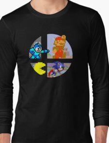 Smash Bros.: Big 4 Long Sleeve T-Shirt