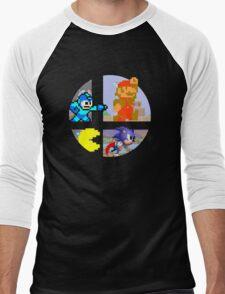 Smash Bros.: Big 4 Men's Baseball ¾ T-Shirt