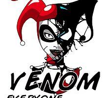 Harley Quinn VENOM by TinyFruitbat