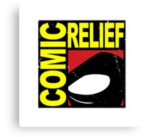 Comic Relief Canvas Print