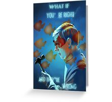What If Greeting Card
