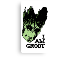 I am Groot. Canvas Print