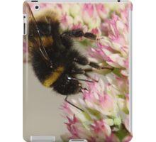 Bumble Bee On Sedum iPad Case/Skin