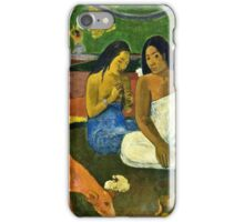 Paul Gauguin - Arearea (1892)  iPhone Case/Skin