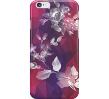 Violet Floral iPhone Case/Skin