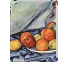 Paul Cezanne - Fruit and a Jug on a Table (about 1890 - 1894)  iPad Case/Skin