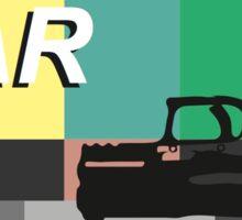 """RIDE"" by Lana Del Rey Sticker"