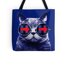 Hipster Cat 4 Hillary Tote Bag