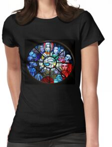 The Last Supper Womens Fitted T-Shirt